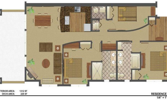 Square Feet House Plans Foot Duplex