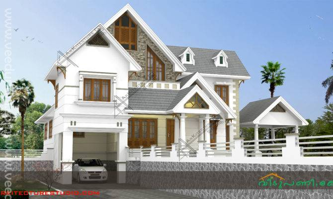 Square Feet Keral Style Home Design Elevation Bedrooms