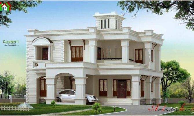 Square Feet Kerala House Elevation Architecture