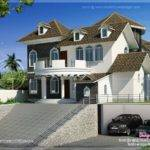 Square Feet Modern Hill Side Home Design Kerala