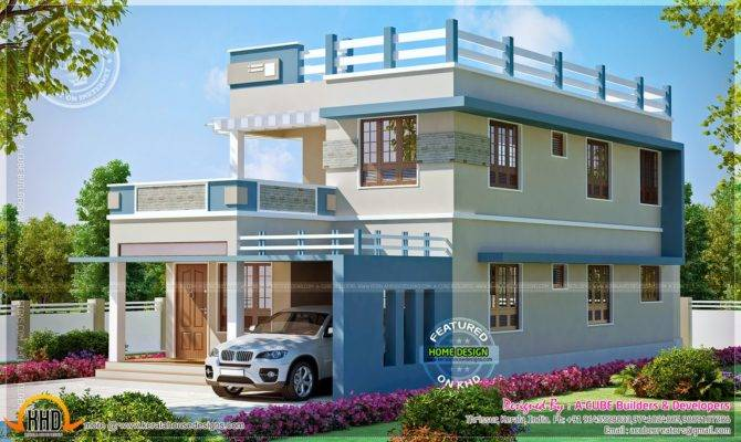 Square Feet New Home Design Kerala Floor Plans Building