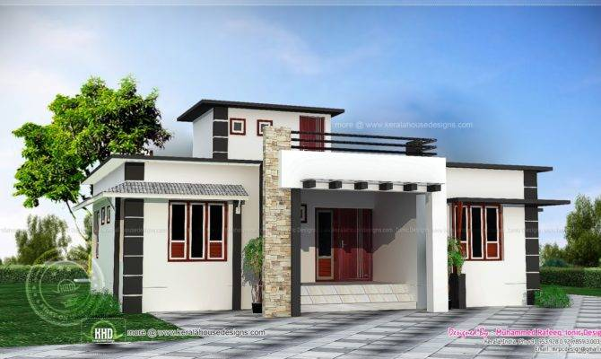 Square Feet One Storied House Kerala Home Design