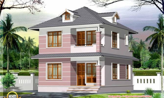 Square Feet Small Home Design Kerala Floor Plans