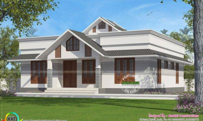 Square Feet Small House Plan Kerala Home Design