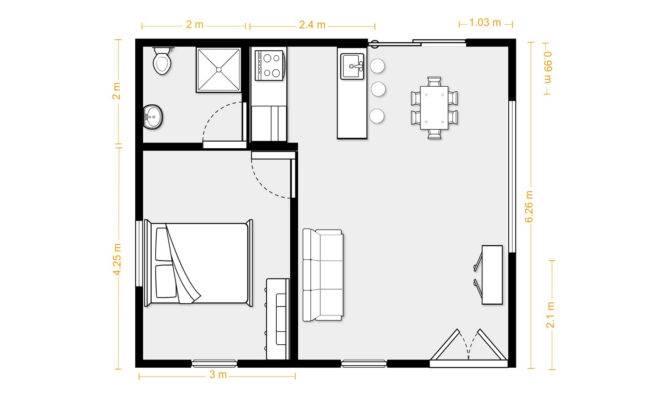Square Foot Apartment Layout House Design Plans