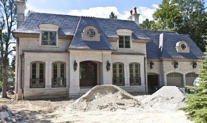 Square Foot French Inspired Home Ontario Canada