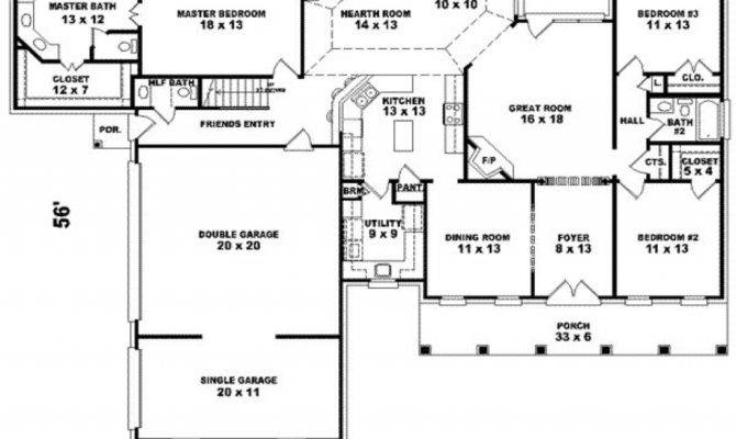 Square Foot House Floor Plans