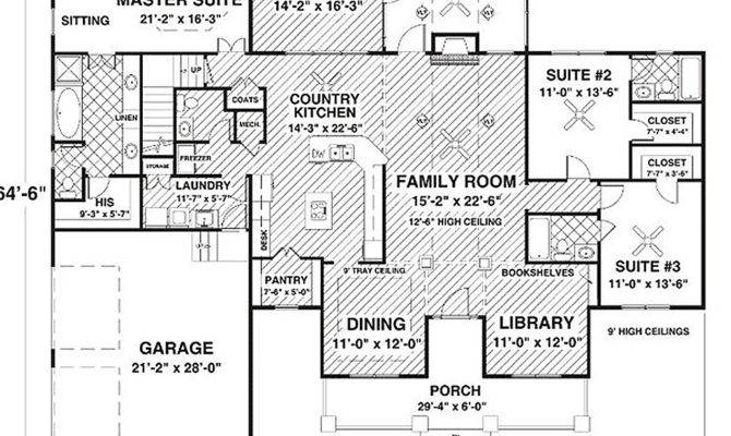 Square Foot House Plan