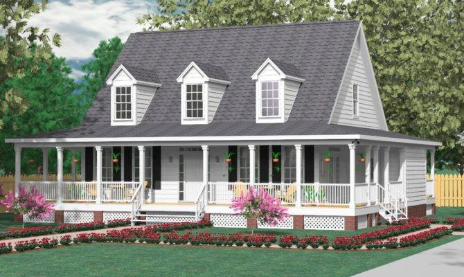 Square Foot House Plans Wrap Around Porch Joy