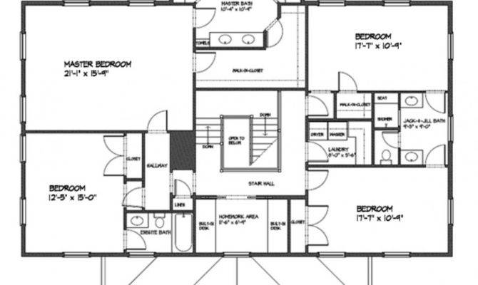 Square Foot Open Floor Plans
