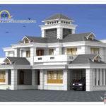 Square Meter Frt Luxury Home Design Elevation October