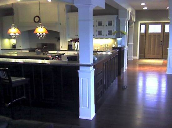 Square Wood Column Elite Trimworks
