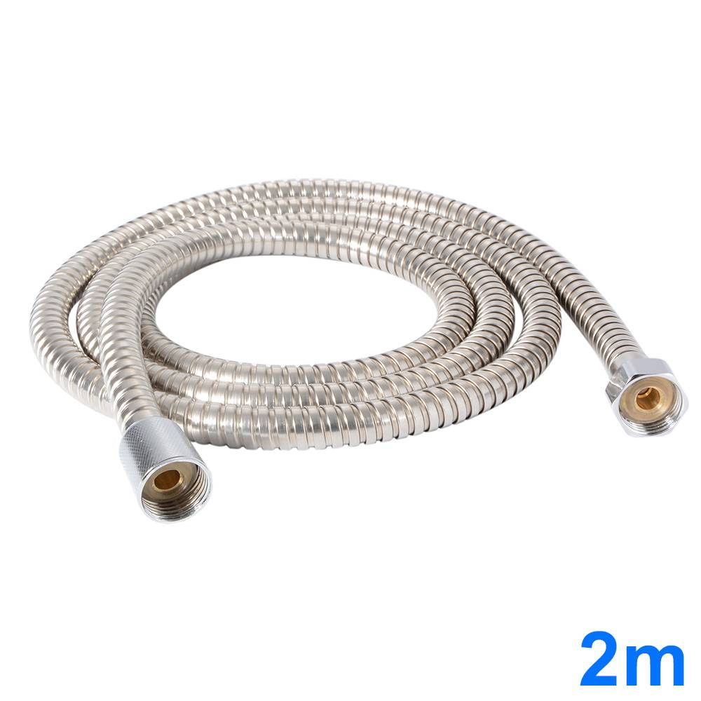 Stainless Steel Heater Water Shower Head Hose Bathroom
