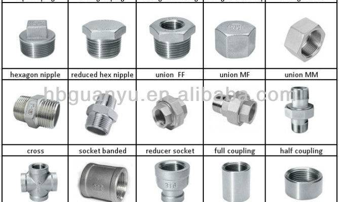 Stainless Steel Pipe Fitting Elbow Nipple Coupling
