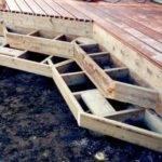Stairs Wrap Around Stringer Diy Deck Plans