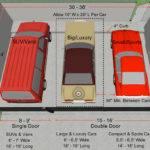 Standard Car Garage Door House Design