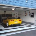 Standard Garage Door House Design
