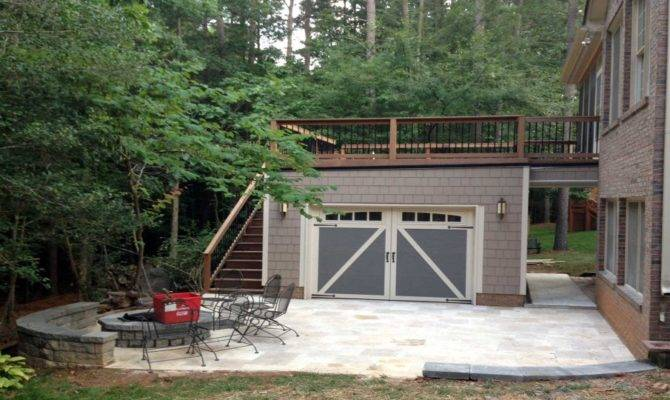 Standing Garage Deck Designed Built