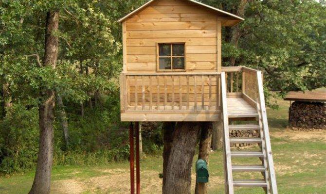 Standing Tree House Plans
