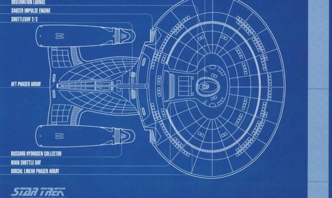 Star Trek Blueprint Collection Portfolio Set Authorized