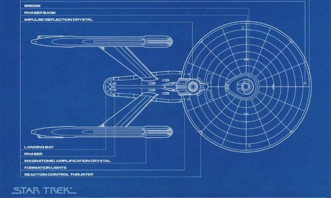 Star Trek Uss Enterprise Deep Space Blueprints