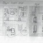 Started Designing Players House Drawing Grid Making