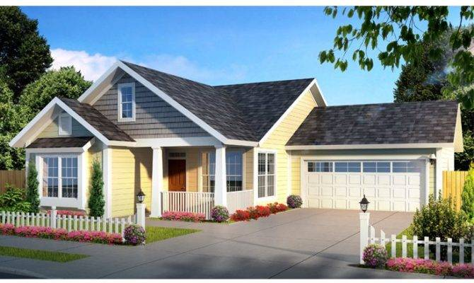 Starter Home Plans Small Ranch House Plan Makes Nice