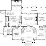 Stately Georgian Manor Architectural Designs