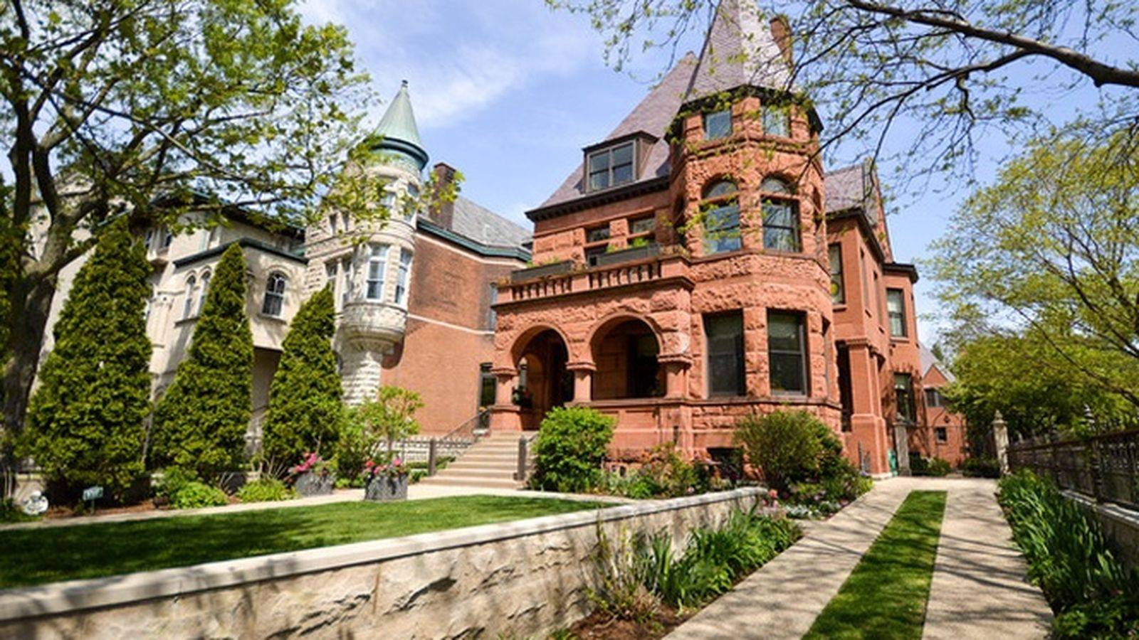Stately Romanesque Mansion Lincoln Park Lists