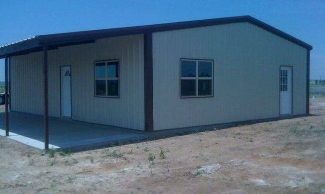 Steel Buildings Living Quarters Floor Plans