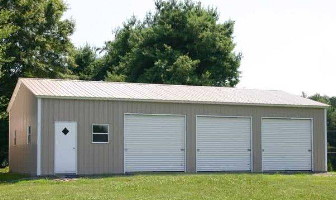 Steel Garage Buildings Buildingsguide
