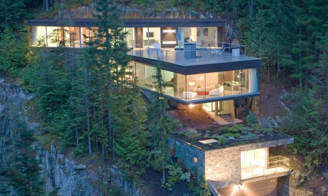 Steep Slope House Design Canada Most Beautiful Houses World