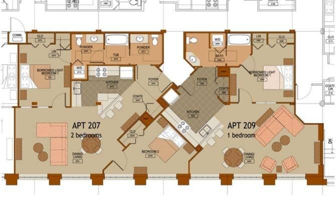 Steeple Loft Floor Plans