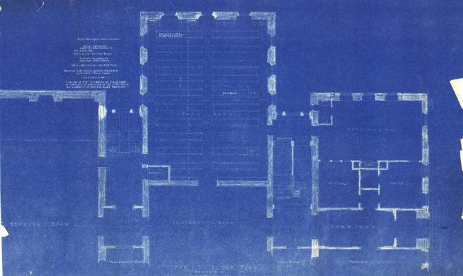 Stetson Hall Blueprints