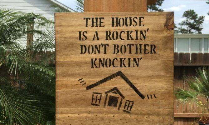 Stevie Ray Vaughan House Rockin Wood