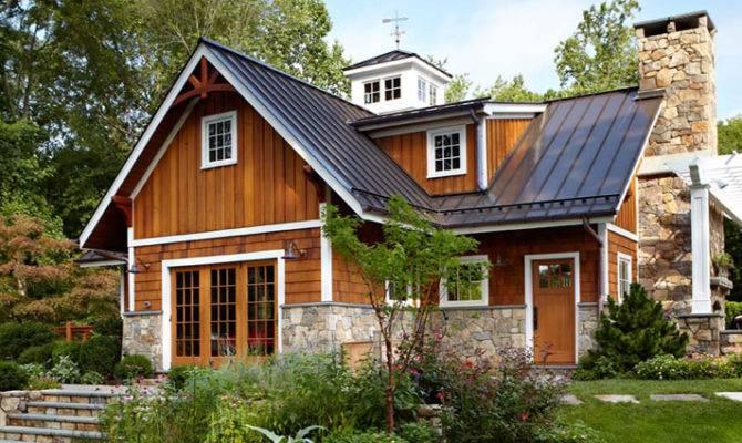 Stone Cedar Shake House Building Amp Remodeling Inc New