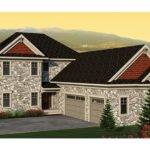 Stone Farmhouse Appeal Hwbdo Traditional Builderhouseplans