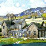 Stone Farmhouse Southern Living Exclusive Home Plan New South