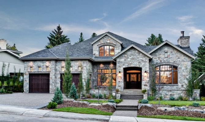 Stone House Bel Aire Traditional Exterior