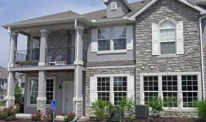 Stone Siding Home Design Fake Exterior Decor