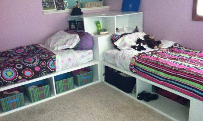 Storage Beds Twin Corner Unit Yourself Home Projects