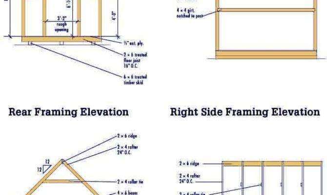Storage Shed Floor Plans Diy Barn Shaped