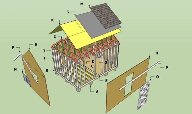 Storage Shed Plans Blueprints
