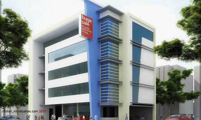Storey Commercial Building