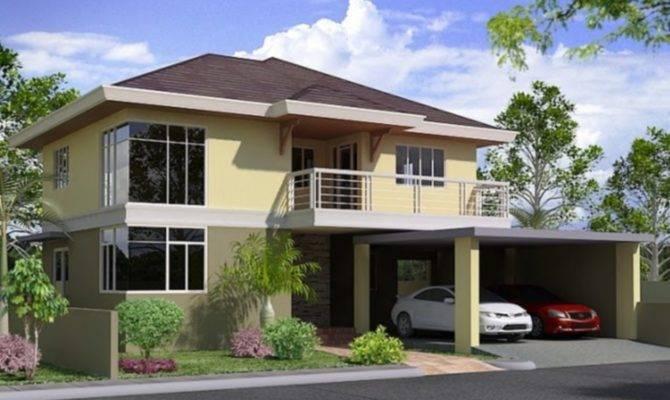 Storey House Design Philippines Modern Plan