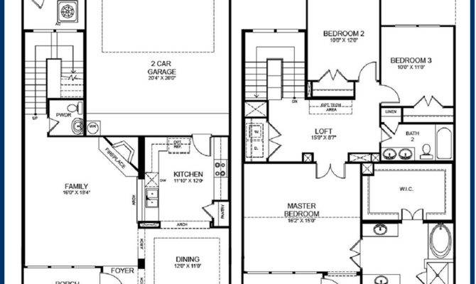 Storey House Floor Plans Diions Home Deco