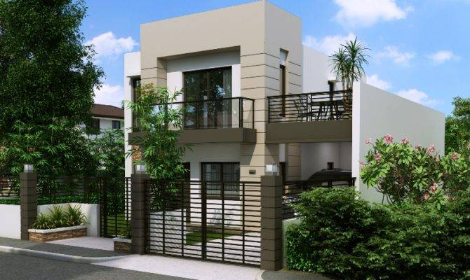 Storey House Plans Small Lots Philippines Home