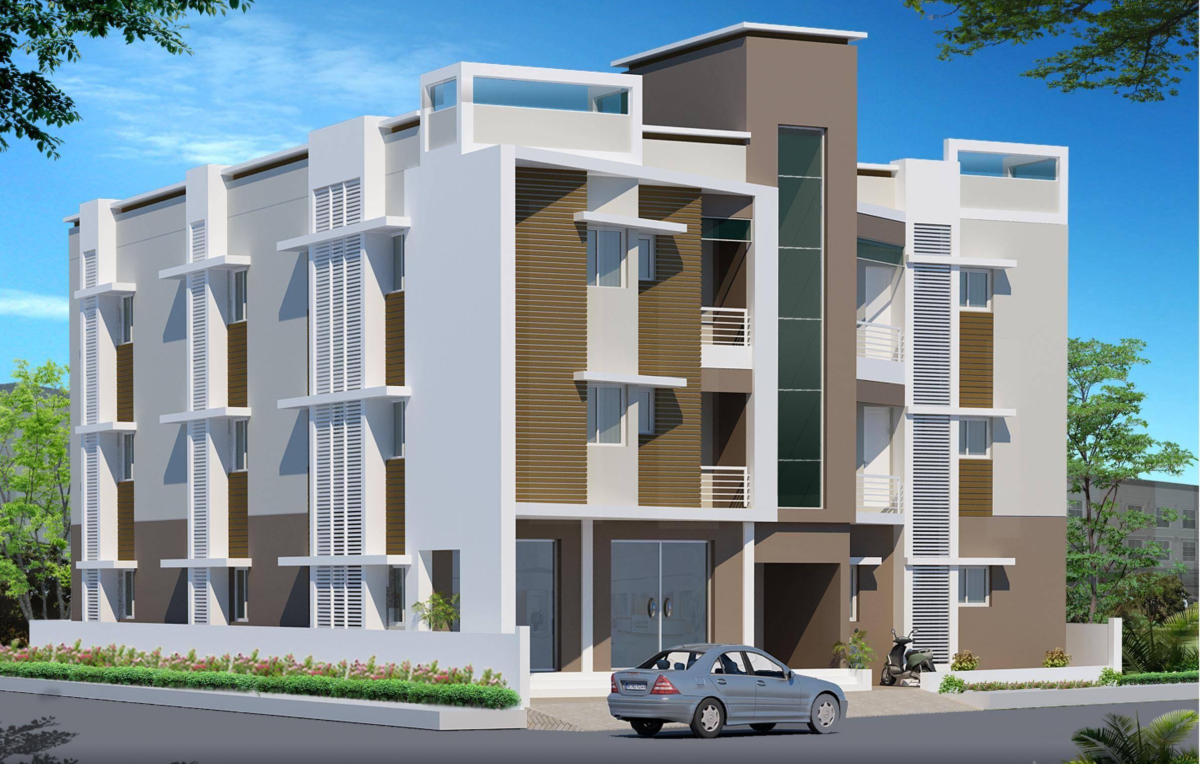 Storey Residential Building Design Top