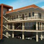 Storey Roofdeck Commercial Building Elizabeth Designs