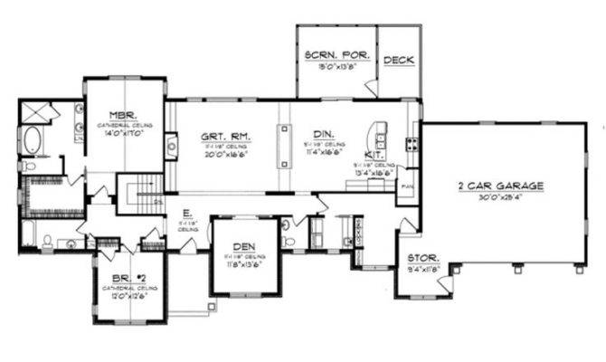 Story Basement House Plans Pinterest